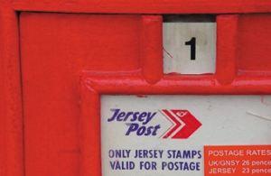 Jersey  Post box