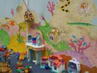 Toddler play area at Sunset Nursery café