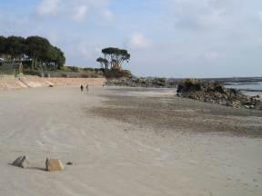 Jersey beaches Green Island