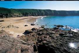 Jersey beaches Plemont