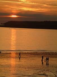 Jersey beaches St Aubins bay