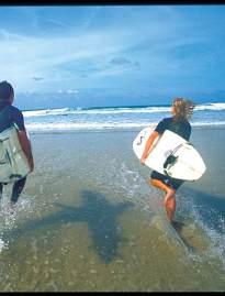 Jersey beaches surfing